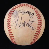 Johnnie LeMaster Signed ONL Baseball (JSA COA) at PristineAuction.com
