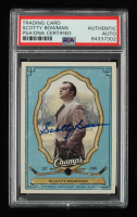 Scotty Bowman Signed 2009-10 Upper Deck Champ's #56 (PSA Encapsulated) at PristineAuction.com