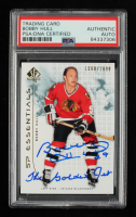 """Bobby Hull 2009-10 SP Authentic #102 #1598/1999 Inscribed """"The Golden Jet"""" (PSA Encapsulated) at PristineAuction.com"""