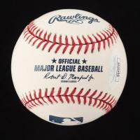 Justin Gaethje Signed OML Baseball (JSA COA) at PristineAuction.com