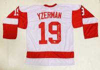 Steve Yzerman Signed Jersey (JSA COA) at PristineAuction.com