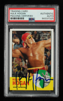 Hulk Hogan Signed 2006 Topps Heritage II WWE #12 (PSA Encapsulated) at PristineAuction.com