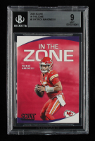 Patrick Mahomes II 2020 Score In the Zone #1 (BGS 9) at PristineAuction.com
