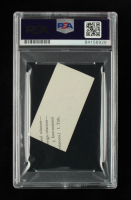 Jimmy Carter Signed 1.5x2.5 Cut (PSA Encapsulated) at PristineAuction.com