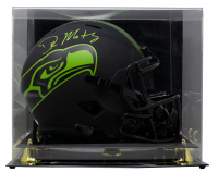 DK Metcalf Signed Seahawks Full-Size Eclipse Alternate Speed Helmet with Display Case (Beckett COA) at PristineAuction.com