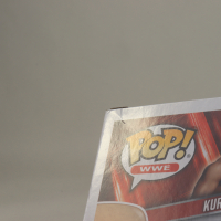 """Kurt Angle Signed WWE #55 Funko Pop! Vinyl Figure Inscribed """"HOF 2017"""" (JSA Hologram) (See Description) at PristineAuction.com"""