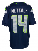 DK Metcalf Signed Seahawks Nike Jersey (Beckett Hologram) at PristineAuction.com
