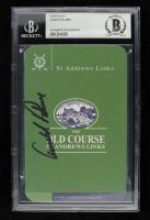 "Arnold Palmer Signed ""St. Andrews Links"" Golf Scorecard (BGS Encapsulated) at PristineAuction.com"