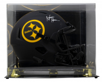 Najee Harris Signed Steelers Full-Size Eclipse Alternate Speed Helmet with Display Case (Fanatics Hologram) at PristineAuction.com