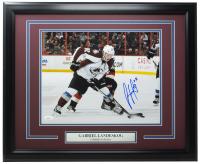 Gabriel Landeskog Signed Avalanche 16x20 Custom Framed Photo Display (JSA COA) at PristineAuction.com