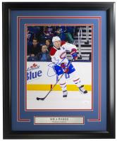 Shea Weber Signed Canadiens 16x20 Custom Framed Photo Display (JSA COA) at PristineAuction.com