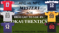 OKAUTHENTICS AFC vs NFC Jersey Mystery Box - Series II at PristineAuction.com