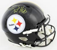 T.J. Watt Signed Steelers Full-Size Authentic On-Field Speed Helmet (Beckett COA) at PristineAuction.com