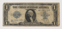 Star Note - 1923 $1 One-Dollar Blue Seal U.S. Large-Size Silver Certificate Bank Note at PristineAuction.com