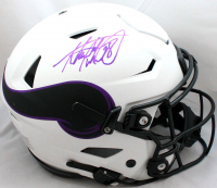 Adrian Peterson Signed Vikings Full-Size Authentic On-Field Lunar Eclipse Alternate SpeedFlex Helmet (Beckett Hologram) at PristineAuction.com