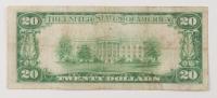 1928 $20 Twenty-Dollars U.S. Gold Certificate Bank Note at PristineAuction.com