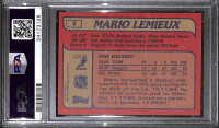 Mario Lemieux 1985-86 Topps #9 RC (PSA 10) at PristineAuction.com