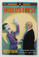 """Christopher Reeve Signed 1990 """"World's Finest"""" Issue #2 DC Comic Book (JSA ALOA) (See Description) at PristineAuction.com"""