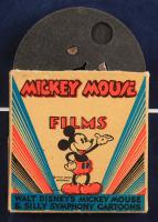 "Walt Disney's Vintage 1940s ""The Band Concert"" 15x25 Custom Framed Print Display with 8mm Reel & Original Packaging at PristineAuction.com"