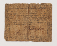 1770 $1/6 One Sixth-of-a-Dollar - Maryland - Colonial Currency Note at PristineAuction.com