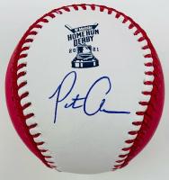 Pete Alonso Signed 2021 Home Run Derby OML Baseball (Fanatics Hologram & MLB Hologram) at PristineAuction.com