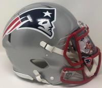 Tom Brady Signed Patriots Full-Size Authentic On-Field Speed Helmet with Custom Visor (Fanatics Hologram) at PristineAuction.com