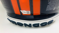 """Peyton Manning Signed Broncos Full-Size Authentic On-Field Speed Helmet with Custom Visor Inscribed """"HOF 21"""" (Fanatics Hologram) at PristineAuction.com"""