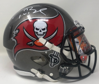 Tom Brady Signed Buccaneers Full-Size Authentic On-Field Speed Helmet with Custom Visor (Fanatics Hologram) at PristineAuction.com