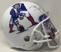 Tom Brady Signed Patriots Full-Size Authentic On-Field Throwback Helmet with Custom Visor (Fanatics Hologram) at PristineAuction.com