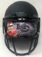Patrick Mahomes II Signed Chiefs Full-Size Authentic On-Field Eclipse Alternate Speed Helmet with Custom Visor (Fanatics Hologram) at PristineAuction.com