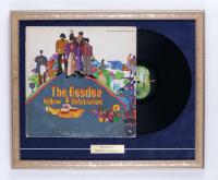 "The Beatles ""Yellow Submarine"" 22x18 Custom Framed Original Vintage LP Vinyl Record Album Display (See Description) at PristineAuction.com"