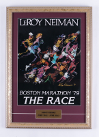 "LeRoy Neiman ""Boston Marathon '79 The Race"" 15x21 Custom Framed Print Display (See Description) at PristineAuction.com"
