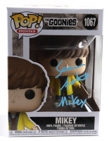 """Sean Astin Signed """"The Goonies"""" #1067 Funko Pop! Vinyl Figure Inscribed """"Mikey"""" (Beckett COA) at PristineAuction.com"""