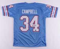 Earl Campbell Signed Jersey (Beckett Hologram) at PristineAuction.com