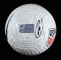 Christian Pulisic Signed Team USA Logo Nike Soccer Ball (JSA COA) at PristineAuction.com