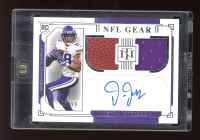 Justin Jefferson 2020 Panini National Treasures Rookie NFL Gear Signature Combos #15 #93/99 at PristineAuction.com