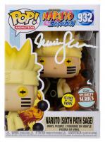 "Maile Flanagan Signed ""Naruto: Shippuden"" #932 Naruto (Sixth Path Sage) Funko Pop! Vinyl Figure (JSA COA) at PristineAuction.com"