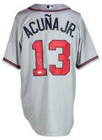 Ronald Acuna Jr. Signed Braves Nike Jersey (JSA COA) at PristineAuction.com