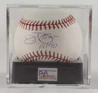 """Jim Palmer Signed OML Baseball Inscribed """"HOF 90"""" with Display Case (PSA LOA & Encapsulated - Graded 9.5) at PristineAuction.com"""