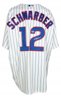 Kyle Schwarber Signed Cubs Jersey (Beckett COA) at PristineAuction.com