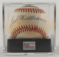 Ted Williams Signed OAL Baseball with Display Case (PSA Encapsulated & Williams Hologram - Graded 7.5) at PristineAuction.com
