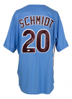 Mike Schmidt Signed Phillies Majestic Jersey (JSA COA) at PristineAuction.com