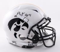 Daviyon Nixon Signed Iowa Hawkeyes Full-Size Authentic On-Field Vengeance Helmet (Beckett COA) at PristineAuction.com