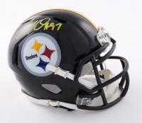 Cameron Heyward Signed Steelers Speed Mini Helmet (Beckett Hologram) at PristineAuction.com