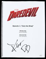 "Charlie Cox Signed ""Daredevil: Into the Ring"" Episode Script Inscribed ""DD"" (JSA Hologram) at PristineAuction.com"