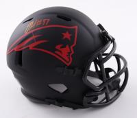 Damien Harris Signed Patriots Eclipse Alternate Speed Mini Helmet (Beckett Hologram) at PristineAuction.com