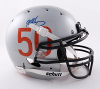 Mike Singletary Signed Full-Size Authentic On-Field Helmet (Beckett COA) at PristineAuction.com