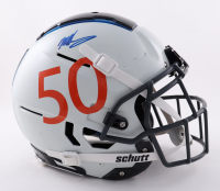 Mike Singletary Signed Full-Size Authentic On-Field F7 Helmet (Beckett COA) at PristineAuction.com