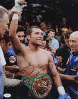 Oscar De La Hoya Signed 11x14 Photo (JSA COA) at PristineAuction.com