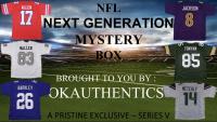 OKAUTHENTICS NFL Next Generation Jersey Mystery Box Series V at PristineAuction.com